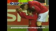 13.05 гол на Карлос Тевес ! Уигън - Манчестър Юнайтед 1:2