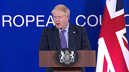 Belgium: Johnson 'very confident' parliament will approve new Brexit deal