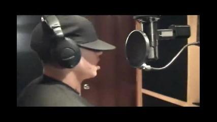 Daddy Yankee en el estudio