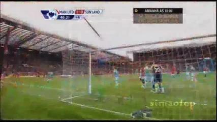 Манчестър Юнайтед 1 - 0 Съндърланд Уелбек Гол *hq*