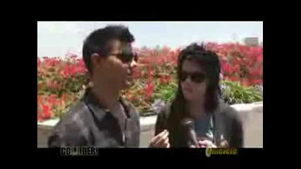 Kristen Stewart and Taylor Lautner Comic Con 2009