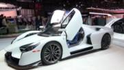 Представиха в Женева сериен суперавтомобил на име SCG003S