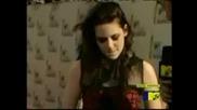 Kristen Stewart Mtv Movie Awards Red Carpet Interview
