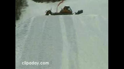Най - Късметливия Сноубордист