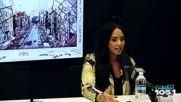 интервюто на Деми за The Angie Martinez Show 2018