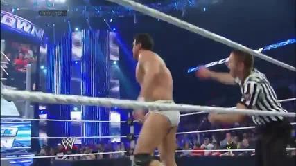 Рей Мистерио срещу Алберто Дел Рио / Разбиване 17.01.2014г.