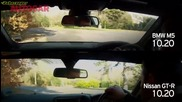 Bmw M5 F10 vs Nissan Gtr