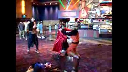 Наруто И Гаара Танцуват
