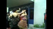 Лесов Танцува Зад Готини Момичета