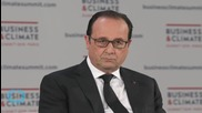 François Hollande Calls for 'miracle' Climate Agreement at Paris Talks