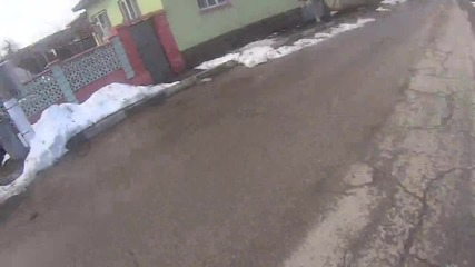 30.1.2016г. - с. Синивир - спускане