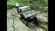 16 Trucks Rc Trail Scale Adventures at Devils Backbone Land Rover Defender D90 Axial Wraith Highlift