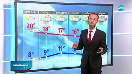 Прогноза за времето (27.10.2020 - обедна емисия)
