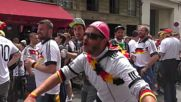 France: German and Italian fans gear up for quarter final clash in Bordeaux