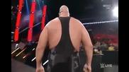 Грамадата срещу Хийт Слейтър - Wwe Raw - 18.01.16