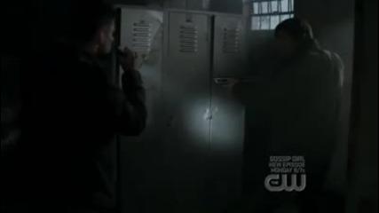 Dean Winchester Screams At Cat (supernatural)