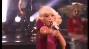 Lady Gaga На живо Пее Lovegame