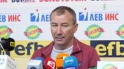 Брифинг на Стамен Белчев и Валентин Антов