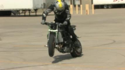 Kawasaki Zx6r stunt