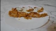 Пилешки хапки с корнфлейкс