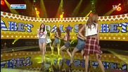 Dal Shabet - Be Ambitious @ S B S Inkigayo [ 21.07. 2013 ] H D