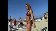Яка мацка денса на плажа