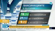 Социолог: 45% от българите казват, че не са се ваксинирали и няма да го направят