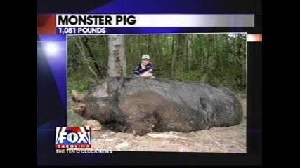 !Невероятно! 11 годишно момче хванало Огромен Глиган