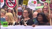 UK: Famous celebs line up against Tory-led austerity programme