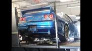 Essexs R33 Gt - R Dyno 1043 whp