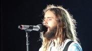 30 Seconds To Mars - Hurricane - Live in Sofia, 2014