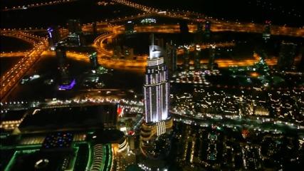 """Без Багаж - Дубай #2 - """"Бурж Халифа"""" - танцуващи фонтани"""