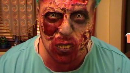 как да се гримираме ,като зомби