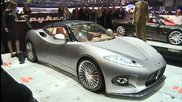 New 2014 Spyker B6 Venator world premiere live Hd video at 2013 Geneva Motor Show