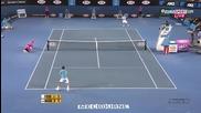 Australian open 2010 : Федерер - Мъри | част 1/3