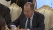 Russia: Lavrov meets Benin FM to talk bilateral cooperation