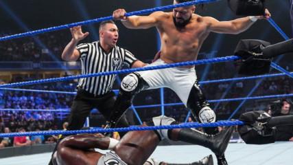 Apollo Crews vs. Andrade: SmackDown LIVE, July 16, 2019