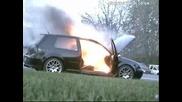Vw Golf GTI Пламва Неочаквано