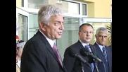 Станишев откри компютърен център в сградата на ДАИТС