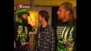 Бг Аудио - Big Show, Hornswoggle, The Miz & Triple H[ Backstage ] 13.02.2010