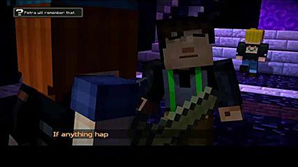 Minecraft Story Mode Епизод 1 Бг Превод Част 2