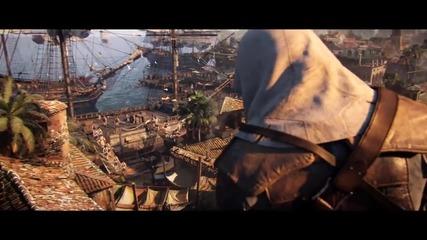 Assassin's Creed 4: Black Flag Debut Trailer [bgsub]