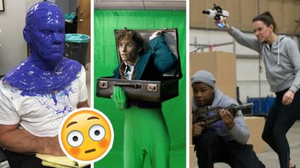 Истината зад специалните ефекти! Как се снимат филми за милиони?