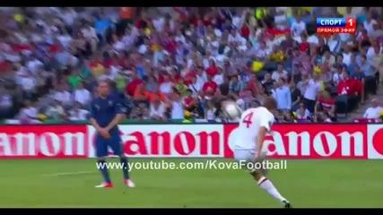 Франция - Англия [1:1] Евро 2012