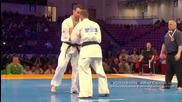 Ec 2015, 1/2 final +90 Valery Dimitrov ( Bulgaria ) - Kubilius Lukas ( Lithuania )