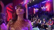 Dancing Stars - Камелия Воче подкрепя Елена и Дидо (08.05.2014г.)
