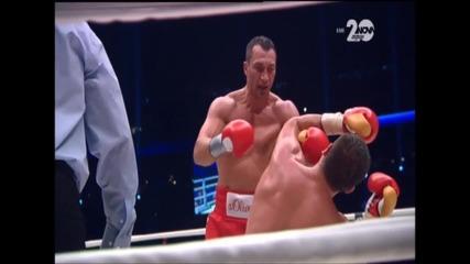 Ето как Кличко нокаутира Пулев