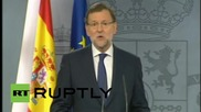 Spain: Independent Catalonia 'not legally possible' - PM Rajoy