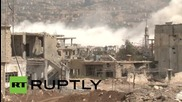 Syria: RT crew comes under attack during visit to Zabadani