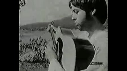 Very Rare Footage The Beatles in India 1968 part 1